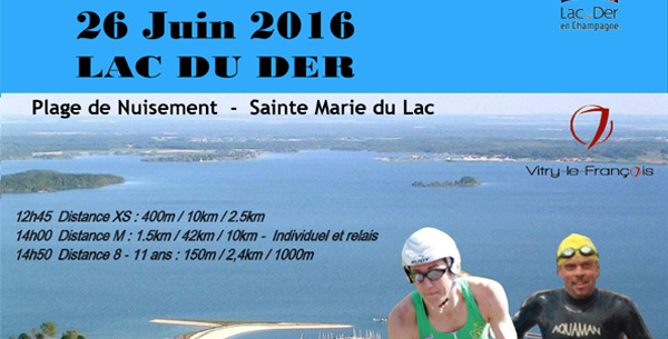 Triathlon de Vitry le François 2016