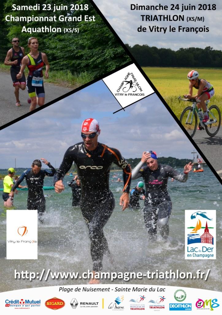 R sultats triathlon aquathlon de vitry le fran ois 2018 for Super u frignicourt