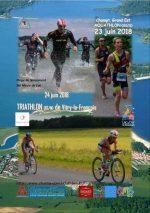 Week-end Aquathlon/Triathlon de Vitry le François 2018